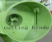 pellet machine cutting blade