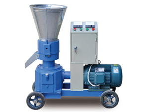 Electric motor pellet mill