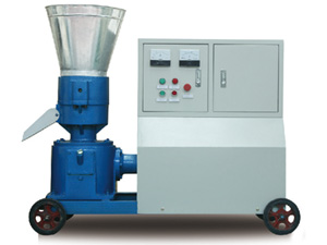 electric motor pellet mill with enclosure