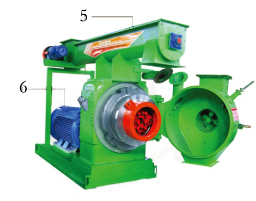 EFB pellet machine