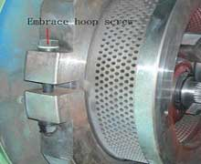 Embrace hoop screw