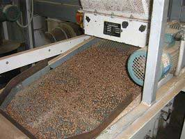 Sifter for pellets