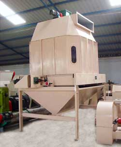rice husk pellet making machine cooler