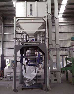 wood pellets packing machine