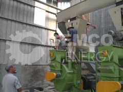 GEMCO wood pellet plant of 4-5 tons in Vietnam